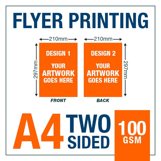 A4 100gsm Two Sided Fairview Print