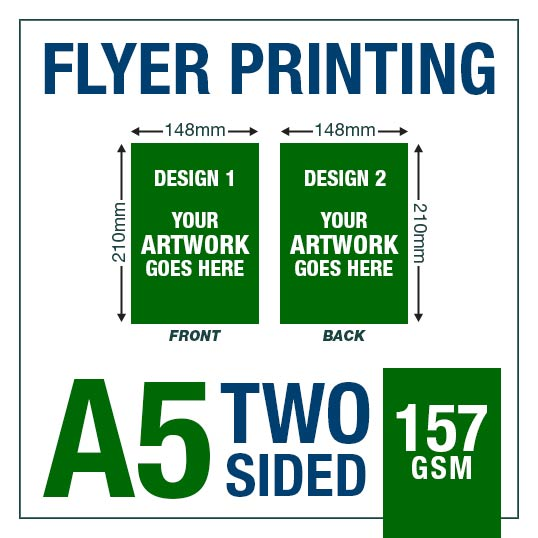 A5 Two Sided Flyer Fairview Print